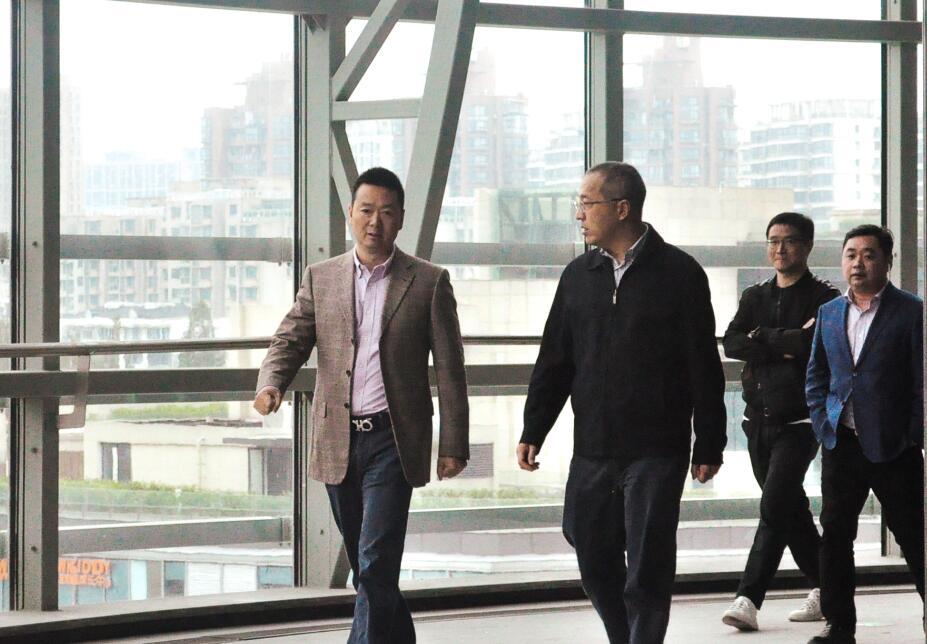 市文化创意产业发展中心副主任孙磊一行考察元谷•长乐园