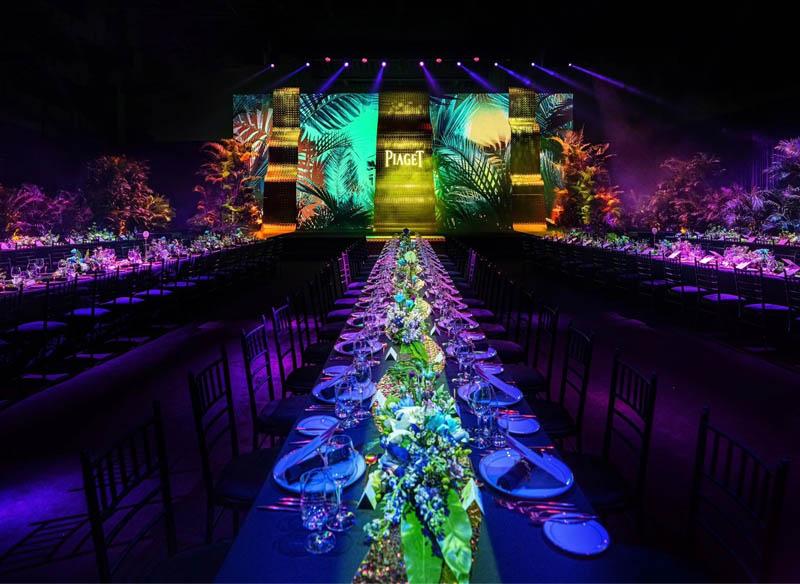 伯爵全新顶级珠宝系列Wings of Light光之羽翼庆祝晚宴在杭州运河文化发布中心盛大举行